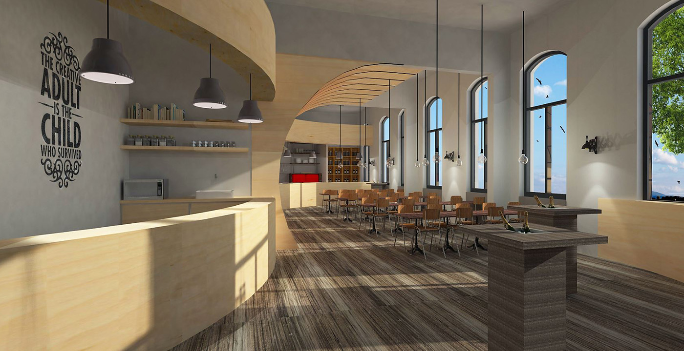 Interieurontwerp Bank15 Horeca