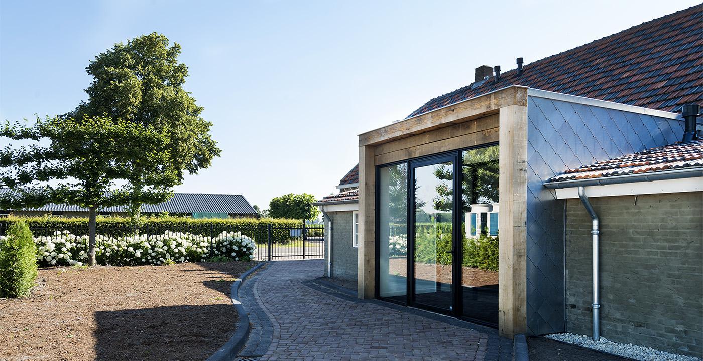Tuinkamer en kantoor